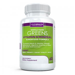 Whole Food Greens Multivitamin