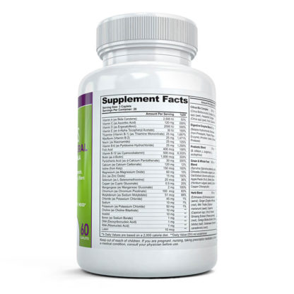 greens supplement facts