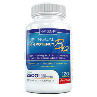 sublingual b12 bottle