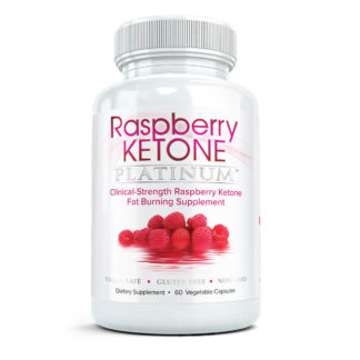 raspberry ketone platinum bottle
