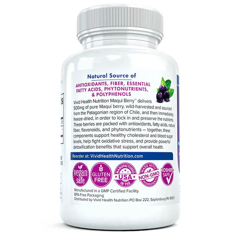 Maqui Berry Vivid Health Nutrition