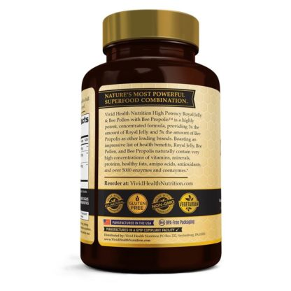 royal jelly bee pollen directions