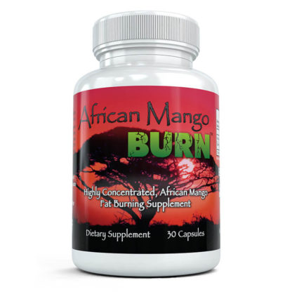 African mango burn bottle