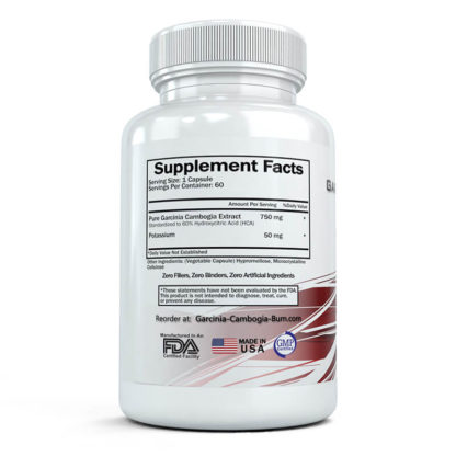 garcinia cambogia burn supplement facts